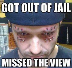 Missed jail