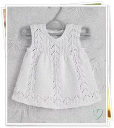 "[   ""Gorgeous white knitted dress for babies"",   ""Check Ravelry for this pattern."",   ""Gorgeous combination of stitches."",   ""See chart also pinned for lace pattern."",   ""Love the simple dress."",   ""Knitted: cute and simple. no pattern link but gorgeous!"",   ""No pattern, but I love it and may need to hunt down a pattern."" ] #<br/> # #Knitted #Baby,<br/> # #Baby #Knitting,<br/> # #Baby #Knits,<br/> # #Baby #Jumper,<br/> # #Dresses #For #Babies,<br/> # #Baby #Dresses,<br/> # #Lace…"