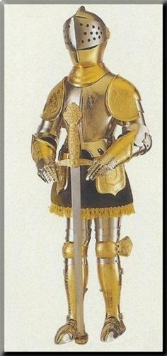 ''Los armeros eran los encargados de realizar los grabados a las armaduras medievales.''