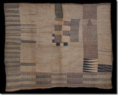 In my last post I looked at two rare embroidered robes from Liberia or Sierra Leone in the British Museum collection. Textile Patterns, Textile Prints, African Textiles, African Patterns, Museum Collection, West Africa, Sierra Leone, British Museum, Quilt Making