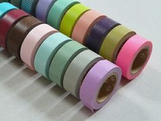 Coloured Masking Tape from presentandcorrect.com