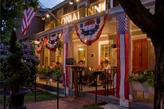 Love staying at the Colonial Inn in Concord, MA. It is haunted by a Revolutionary war soldier. Many famous people have stayed there like Steve Martin.