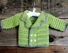 Baby Pea Coat Sweater