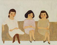 Sisters giclee print van KatePugsley op Etsy, $25.00