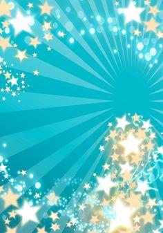 Tarjeta de Invitación Novedosa para 15 Años Turquesa con Estrellas