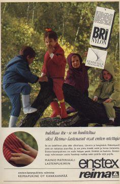 Reima/Enstex children's outer wear, 1967 Finland, Couple Photos, Retro, Kids, How To Wear, Vintage, Couple Shots, Young Children, Boys