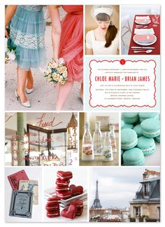 Minted.com: Wedding Invitations, Party Invitations, Baby Shower, Birthday & Save The Date Aqua red