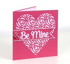 Free birds cards Retro-Rose-Heart-Card