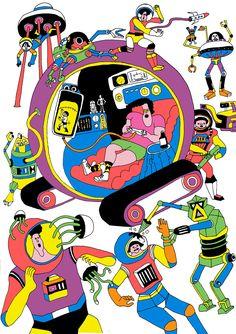 Wakana Yamazaki illustration 2010