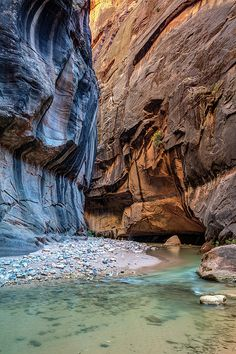 Ambiant Light of the Narrows, soft light bouncing off the canyon walls with contrasting colors and the gentle virgin river flowing through this scenic landscape. Zion National Park, Utah virgin river, narrows, canyon, zion , zion national park, utah, usa, southwest, contrast, colors, ambiant light, soft light, landscape, nature, natural wonders, outdoors, hike, adventure, fun experience, river, water, flowing, erosion, gentle, soft, atmospheric, moody, scenic, travel, pierre leclerc…