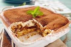 A legfinomabb sütés nélküli édességek - Recept | Femina Authentic Tiramisu Recipe, Easy Tiramisu Recipe, 3 Quart Baking Dish, Good Food, Yummy Food, Bariatric Recipes, Flan, Chocolate Recipes, Italian Recipes