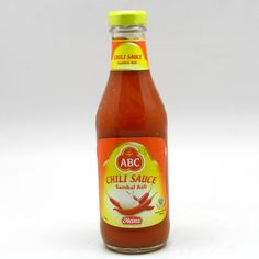 ABC Sambal Asli Chili Sauce from Indonesia...aaahahahaha typical, a hot sauce with my name. makes a lot of sense.