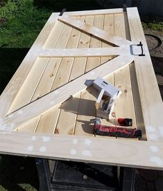 Woodworking Toys Building How To Build A Sliding Barn Door For Less. Toys Building How To Build A Sliding Barn Door For Less. Easy Woodworking Projects, Diy Wood Projects, Home Projects, Woodworking Plans, Woodworking Techniques, Woodworking Essentials, Woodworking Store, Woodworking Patterns, Woodworking Workshop