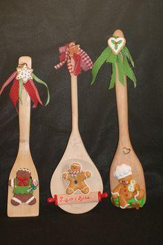 gingerbread spoons