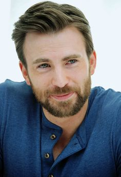 """one year of chris evans "" ↪ day at the 'captain america: the winter soldier' press conference in beverly hills, 2014"