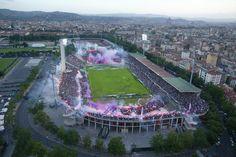 Artemio Franchi - Fiorentina. Capacity: 47,282.