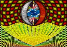 Pôster Ciclos da Vida - Simbologia: Esta representação gráfica que planifica de forma abstrata porem compreensiva, os ciclos setenários da vida do homem e suas respectivas regências ou influências planetárias. Lembrando sempre que os astros inclinam, mas não obrigam, cabe a cada um de nós priorizarmos, ou não, em nossas vidas o conhecimento adquirido sobre a perspectiva da vida cósmica e transcendental que se descortina diante de nossos olhos quando o buscamos...