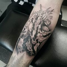 #jaguar #blackandgreytattoo #realismtattoo #keithmillertattoo @empire_tattoo_boston #tattoo #bostontattoo www.empiretattooinc.com