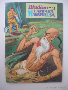 Aladdin and the Wonderful Lamp, Series stories of the grandmother, Ed. Culture and Progress year 1974, - Picture 1