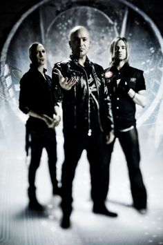 Device Industrial Metal Band. Left to right: Virus, David Draiman, Will Hunt