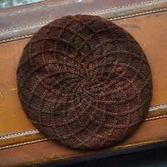 Aeonium by Woolly Wormhead, knitted by hellskitsch | malabrigo Worsted in Marron Oscuro