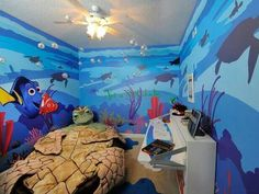 Finding Nemo bedroom