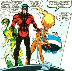 Legion of Super Heroes Members | in the legion 6 1988 and the 2995 legion sourcebook