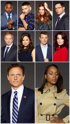 Scandal cast photos season 3