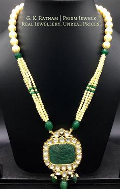 Diamond Polki | Vilandi | Polki | Uncut diamonds | Old cut diamonds | Traditional | Indian | Bridal | Wedding | Kundan Meena | Jadau | Jadtar | Hallmarked | Gold | Enamel | Jewelry | Jewellery | Pendants | Pendant Sets