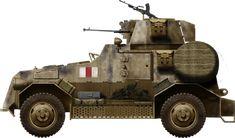 British Marmon-Herrington Mk.III, Lybia early 1942, pin by Paolo Marzioli