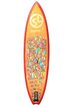 """Suplove Super Sport - 9'10"""" Stand Up Paddle Board I want the rails to be purple... but other than that this is just about it."""