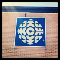 Old logo on the #CBC building in Cornerbrook, NFLD (Taken with instagram)
