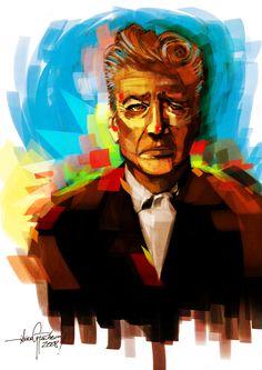 David Lynch by Javier G Pacheco