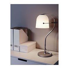 IKEA - SVIRVEL, Tischleuchte, , Verstellbarer Leuchtenkopf zum optimalen Ausrichten des Lichts.Erzeugt ein gemütlich-weiches Stimmungslicht im Raum.