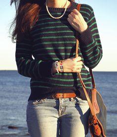 Classy Girls Wear Pearls loves vintage Dooney