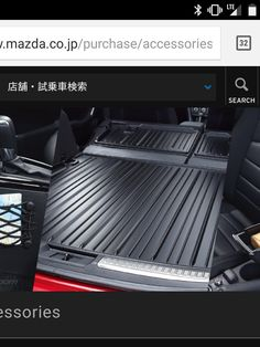 I found this unique cargo liner on the Mazda Japan accessories site. Google is failing me does anyone know where to find something like this for the cx3? #Mazda #mx5 #miata #Roadster #eunos #TopMiata #cars #car