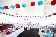 [ Sweet June Aqua Amp Red Wedding Fun ] - vintage americana baseball wedding the shoestring bride best ideas for purple and teal wedding thing or two about holly jean choosing your wedding 17 best ideas about tiffany blue centerpieces on p Red Wedding Decorations, Wedding Themes, Aqua Red Wedding, Wedding Color Schemes, Wedding Colors, Wedding Table, Wedding Ceremony, Tout Rose, Carnival Rides
