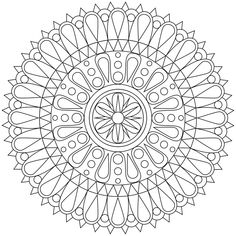These Printable Mandala And Abstract Coloring Pages Relieve Stress And Help You Meditate - Higher Perspective