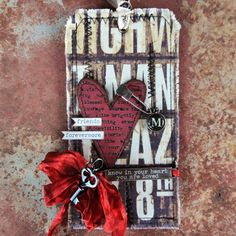 More Tim Holtz tags