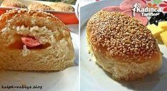 Sosisli Simit Poğaça Tarifi Bagel, Pasta, Muffin, Bread, Breakfast, Food, Morning Coffee, Brot, Essen