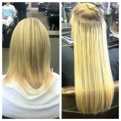 Micro Link Hair Extensions-15