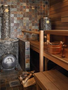 Steam Room, Saunas, Entryway Tables, Aqua, Cool Stuff, Beach House, Basement, Room Ideas, Furniture