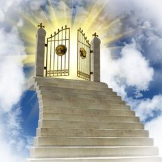 Find Gates Paradise Clouds stock images in HD and millions of other royalty-free stock photos, illustrations and vectors in the Shutterstock collection. Thousands of new, high-quality pictures added every day. Stairway To Heaven Tattoo, Gates Of Heaven Tattoo, Heaven Tattoos, Stairs To Heaven, Heaven Pictures, Jesus Pictures, What Is Heaven, Heaven Art, Jesus Christ Images