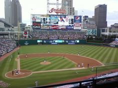 Progressive Field, home of the Cleveland Indians