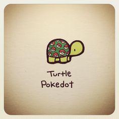 """2,216 Likes, 15 Comments - Turtle Wayne (@turtlewayne) on Instagram: """"Turtle Pokedot"""""""