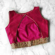 Sleeveless blouse designs Vegan Coleslaw vegan coleslaw for sale Kids Blouse Designs, Simple Blouse Designs, Stylish Blouse Design, Silk Saree Blouse Designs, Choli Designs, Blouse Neck Designs, Indian Blouse Designs, Designer Blouse Patterns, Designer Saree Blouses