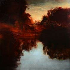"Saatchi Art Artist Maurice Sapiro; Painting, ""Reflections"" #art"