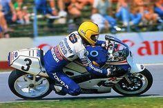Honda VFR750 V4 & Joey Dunlop – TT Formula 1 world champion 1986 Assen