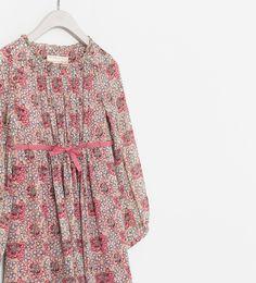 ZARA - KIDS - FLORAL PRINT DRESS