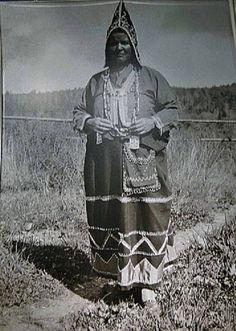 MI'KMAQ WOMAN , 1930